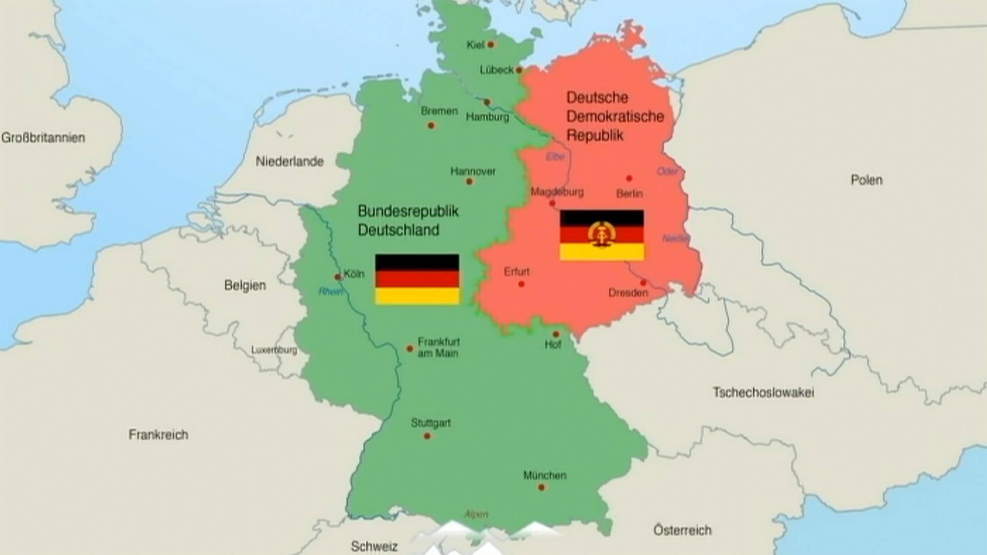 Mauerverlauf Deutschland