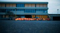 Germanwings haltern schule kerzen abend dpa