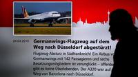 Germanwings infosceen news afp