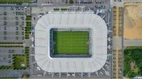 Luftaufnahme stadion moenchengladach