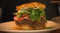 15 kimchi burger foto