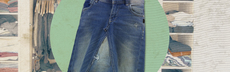 Tutorial upcycling jeansrock fertig