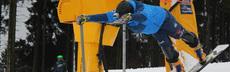 Bild bergmann beim start