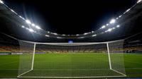 Stadion bei nacht