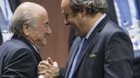 Blatterplatini dpa