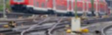 Hintergrund zug und gleise