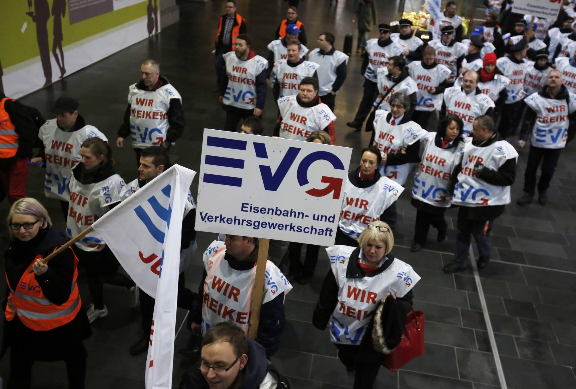 Evg mitarbeiter streik